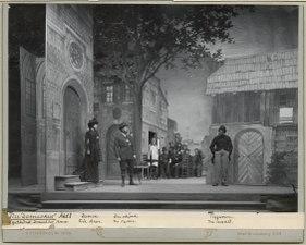 Till Damaskus, Dramatiska teatern 1900. Föreställningsbild - SMV - H15 016.tif