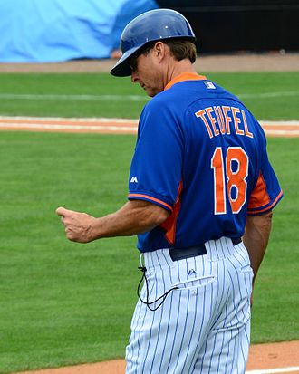 Tim Teufel - Teufel with the Mets in 2015