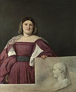 Titian - Portrait of a Lady ('La Schiavona') - Google Art Project.jpg