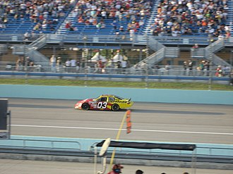 Todd Bodine - Bodine at the Ford 300 during the 2007 Ford Championship Weekend at Homestead-Miami Speedway.