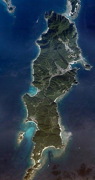 Tokashiki Island - Aerial view of Tokashiki Island