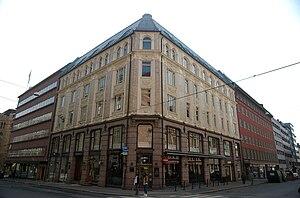 Tollbugata 24, Oslo. Built 1898.