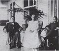 Toney Afong visits his mother and cousin George C. Beckley in Honolulu.jpg