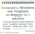 Torgglhaus Bozen - Zeitungsannonce.jpg