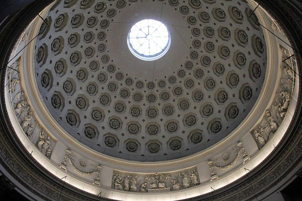 Coupole de l'église Gran Madre di Dio à Turin. Photo de Gianni Careddu