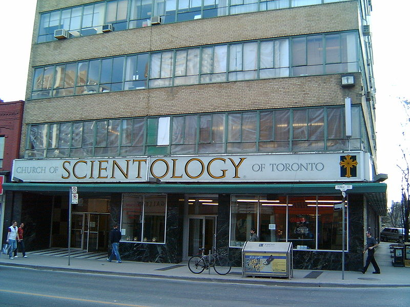 Toronto church of scientology celebrity