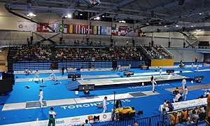 Fencing at the 2015 Pan American Games - Fencing competition at the CIBC Pan Am/Parapan Am Aquatics Centre and Field House.