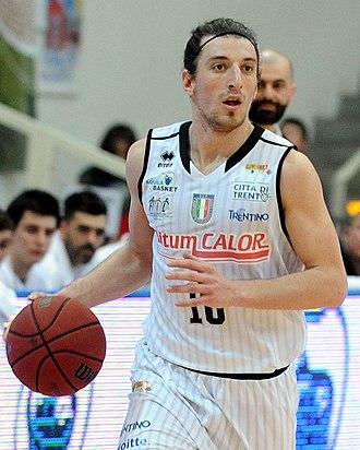 Andrés Pablo Forray - Image: Toto Forray Aquila Basket Trento 2013