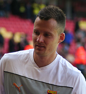 Dániel Tőzsér - Tőzsér with Watford in 2014