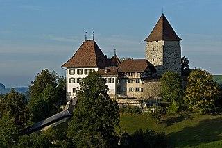 Schloss Trachselwald, Kanton Bern, Schweiz