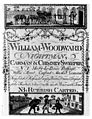 Trade card for William Woodward, 18th century. Wellcome M0011054.jpg