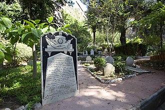 Trafalgar Cemetery - Image: Trafalgar Cemetery Thomas Norman