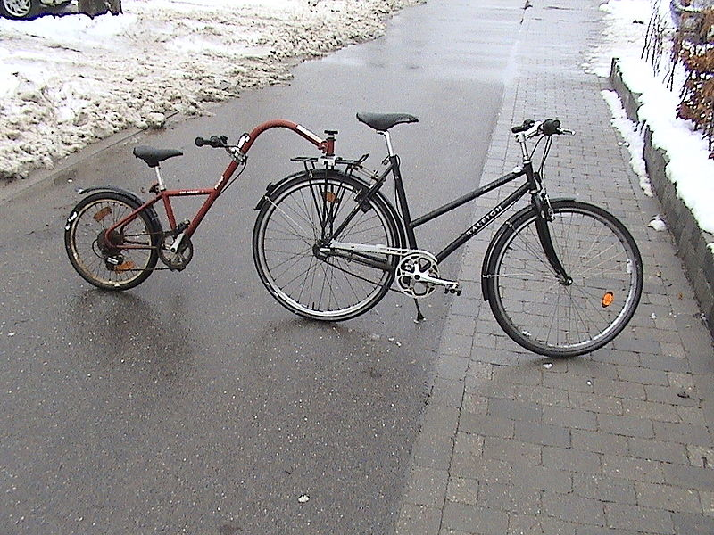 Pusher Trailer A Bicycle Frame Solution Endless Sphere