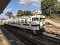 Train of Kashii Line at Kashii Station 2.jpg