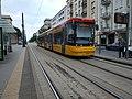 Tram in Warsaw, Pesa Jazz 128N n°3629 - rear.jpg