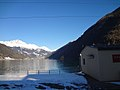 Trem Bernina Express - Lago di Poschiavo - Estacao Miralago - Suica (8745200243).jpg