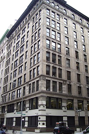 Brown Building (Manhattan) - Image: Triangle Shirtwaist Factory fire building
