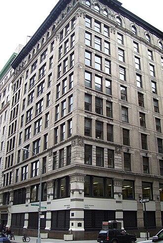 Brown Building (Manhattan) - Image: Triangle Shirtwaist Factory fire building