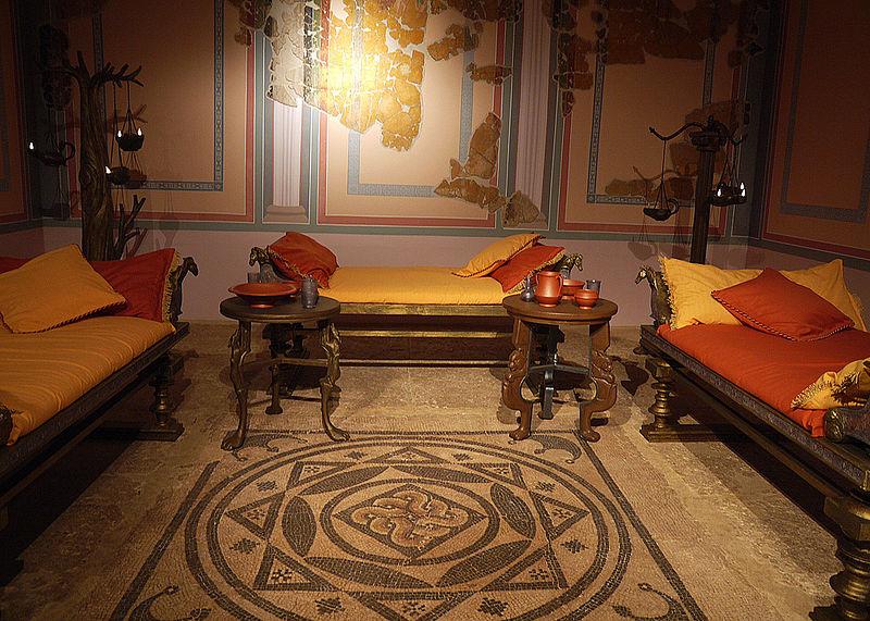 File triclinio museo de wikimedia commons - La villa romaine antique ...