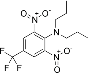 Trifluralin - Image: Trifluralin structure