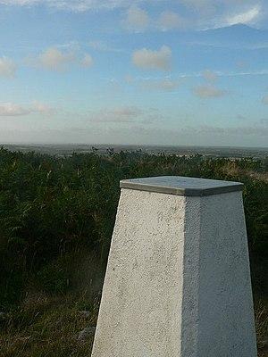 Tregonning Hill - Trig point, Tregonning Hill