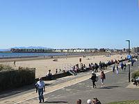 Troon south beach and esplanade.JPG