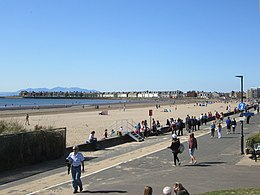Troon south beach and esplanade.JPG