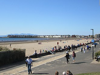South Ayrshire - Troon, after Ayr, is one of South Ayrshire's largest settlements in terms of population and a major tourist attraction, attracting visitors to its beaches and golf courses.