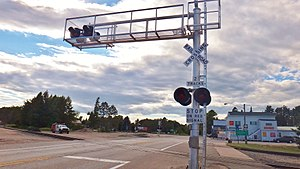 Level crossing signals - Wikipedia
