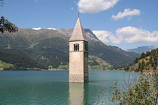 Turm Reschensee
