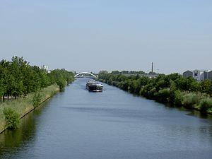Twentekanaal - Twentekanaal in Enschede
