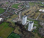 Two and a half towerblocks from the air (geograph 5297190).jpg