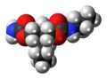 Tybamate molecule spacefill.png