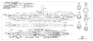 type vii submarine wikipediadetailed drawing of a type viic u boat