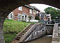 Tyrley Wharf Buildings and Top Lock, Shropshire Union Canal, Staffordshire - geograph.org.uk - 546993.jpg