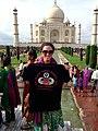 U.S. Army 1st Lt. Laura Condyles at the Taj Mahal.jpg