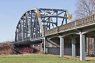 Sultan, Washington - The Sultan River bridge carrying U.S. Route 2 west of downtown Sultan