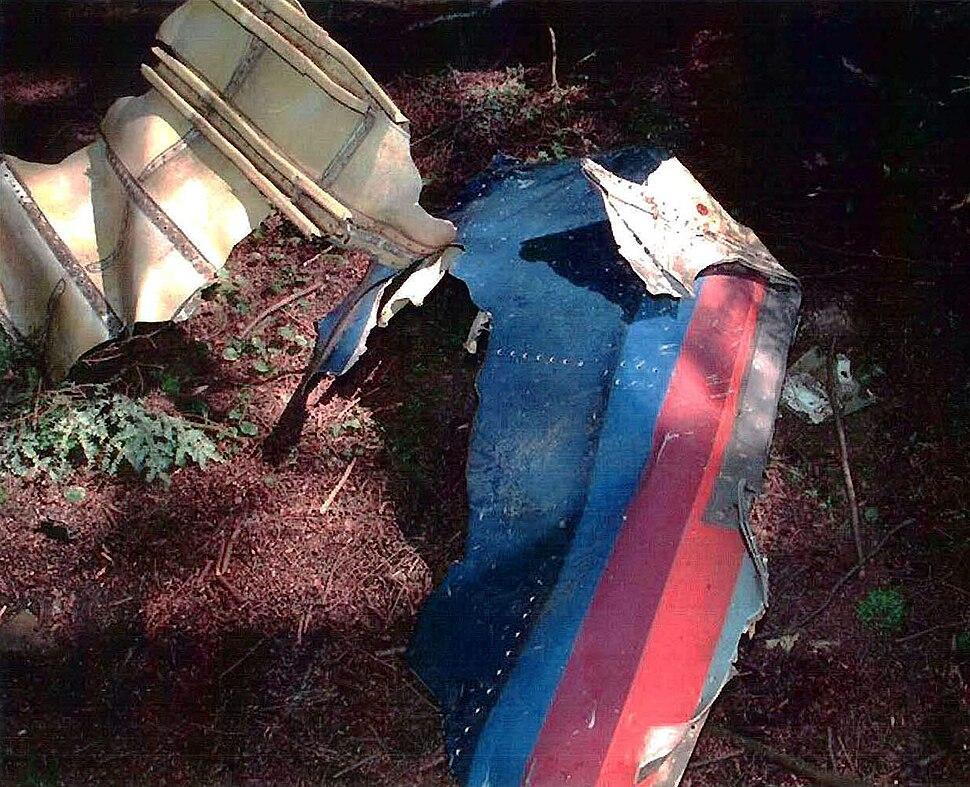 UA93 livery debris