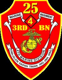 USMC - 3rd Battalion 25th Marines