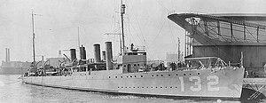 USS Aaron Ward (DD-132)