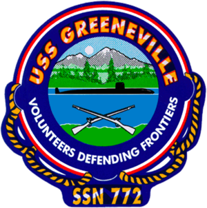 USS Greeneville (SSN-772) - Crest of the Greeneville