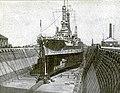USS Mississippi (BB-41) in drydock San Francisco 1920.JPG