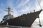 USS Momsen arrives at Naval Air Station North Island after a seven-month deployment. (30842705346).jpg