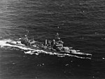 USS New Orleans (CA-32) underway during exercises off Hawaii on 8 July 1942 (80-G-10115).jpg