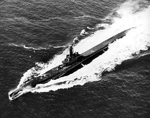 Pintado (SS-387) underway, c. 1944/1945.