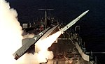 USS Texas (CGN-39) launches a RIM-66 Standard missile, circa in 1984.jpg