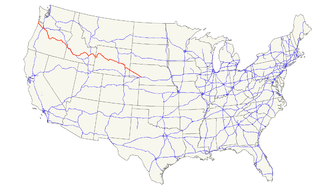 U.S. Route 26 - Image: US 26 map