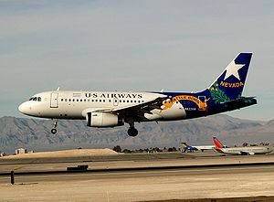 A320 US Airways nevada