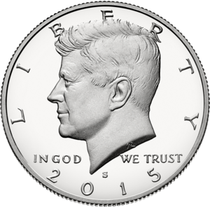 Gilroy Roberts - A half dollar obverse