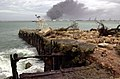 US Navy 021209-N-7293M-026 Damages incurred at U.S. Naval Forces Marianas from the effects of Super Typhoon Pongsona.jpg